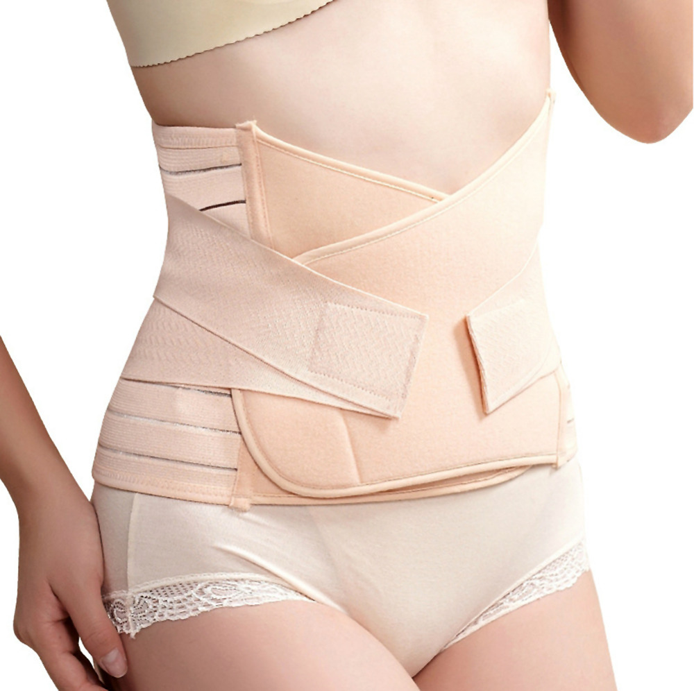 Pregnant Woman Postpartum Recovery Belt Pregnancy  Girdle Tummy Slim Slimming Waist Belly Band Shapewear  # ZH174(China (Mainland))