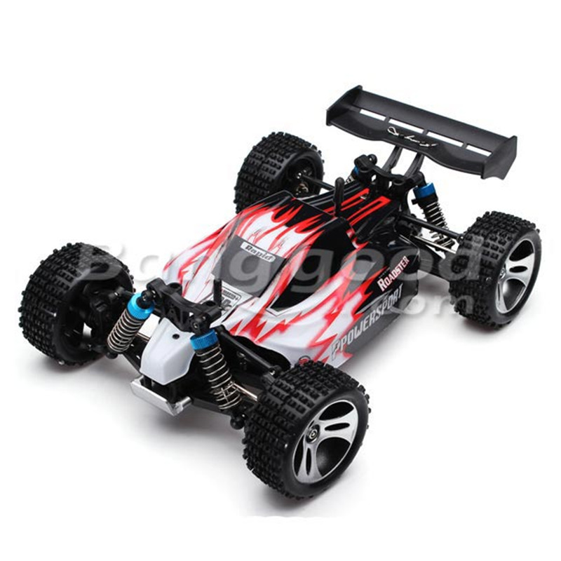 Wltoys A959 1/18 2.4Gh 4WD RC Off-Road Buggy ARR Version Without Transmitter<br><br>Aliexpress