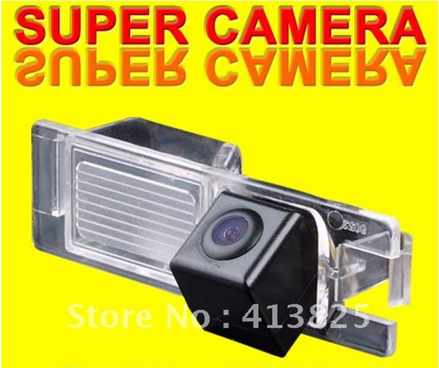 For Opel Astra/Corsa/Zafira/Vectra Car rear view Camera back up reverse for GPS DVBT radio waterproof fully NTSC form(China (Mainland))