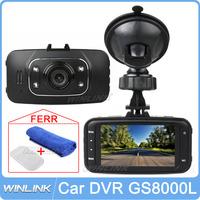 Ru Free Shipping!! Original 2.7'' HD 1080P Car DVR Vehicle Camera Video Recorder HDMI Dash Cam G-sensor GS8000L