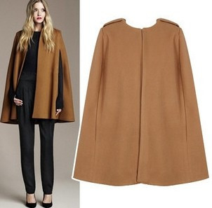 High Quality Women Wool Cape Coats Promotion-Shop for High Quality ...