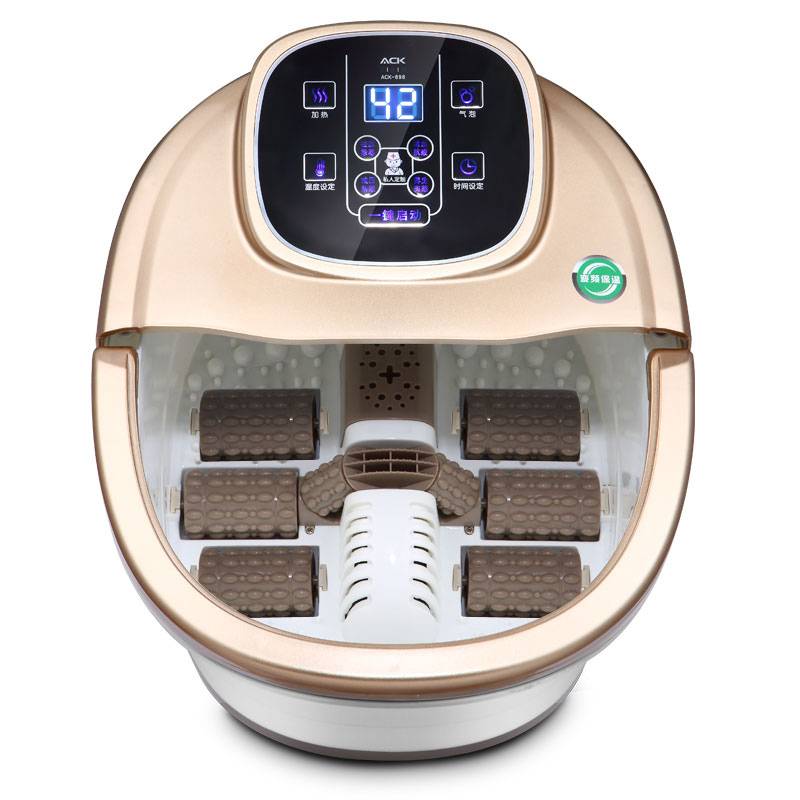 2015 new professional electric foot massage ionic detox machine foot spa basin exfoliator for foot care pedicure tools(China (Mainland))