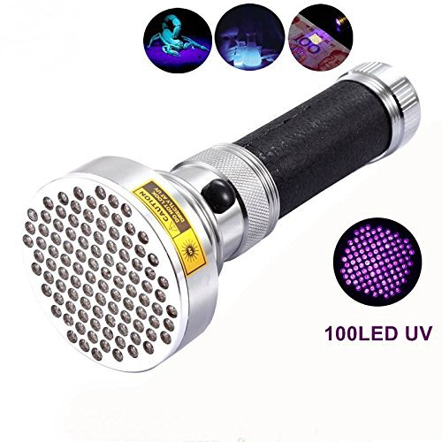 uv flashlight linterna led flashlight torch lanternas lantern blacklight waterproof 100Led Portable Lighting ltraviolet