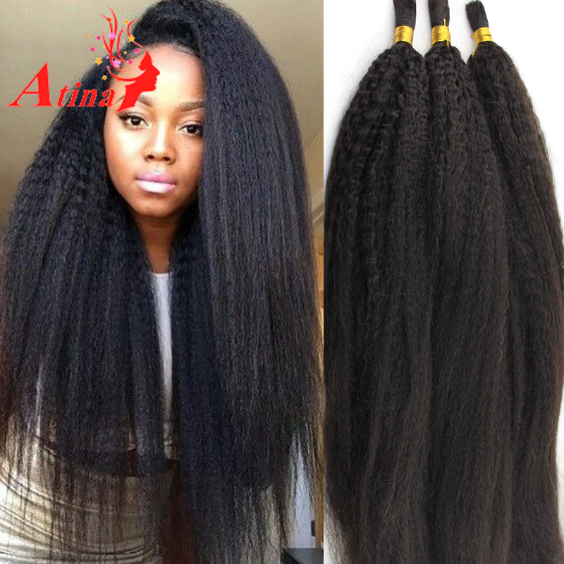 Crochet Human Hair Extensions : Hair Bulk Human Hair For Braiding No Weft Crochet Hair Extensions ...