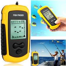 Hot Sale 100M Depth Portable Fish Finder Fishfinder Sonar Sensor Capturing Transducer Alarm Ideal Fishing Tool(China (Mainland))
