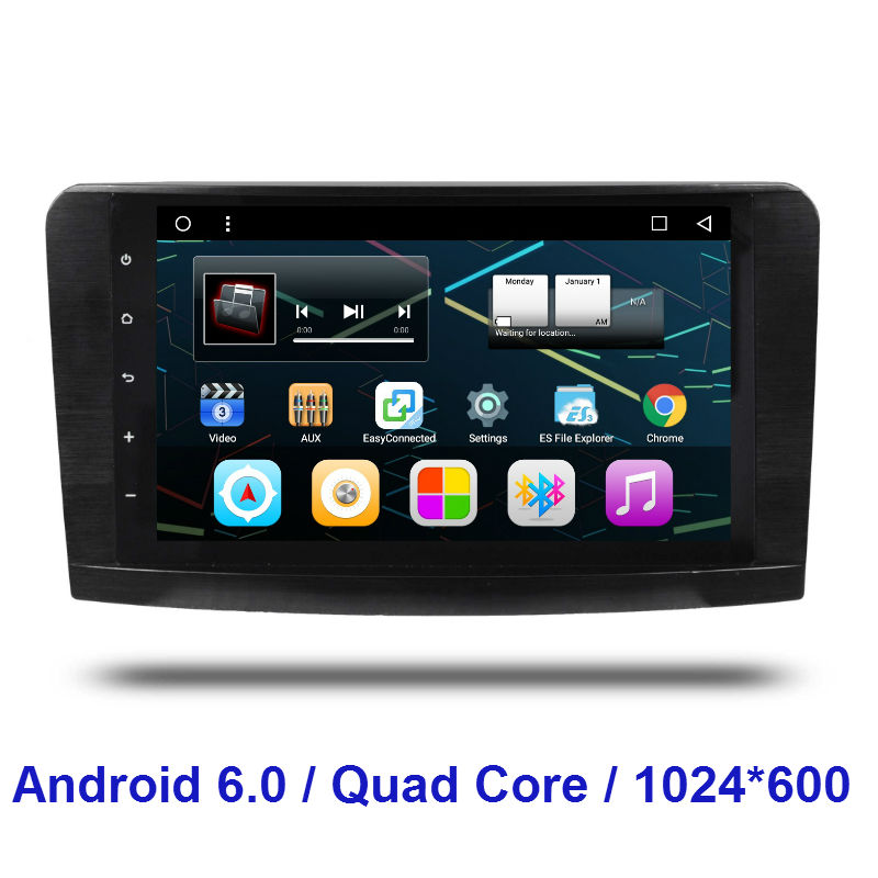 2 Din Android 6.0 CAR Radio DVD GPS player FOR Mercedes Benz ML W164 GL X164 ML300 ML350 ML450 ML500 GL350 GL450 GL500 GL550(China (Mainland))
