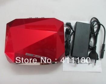 2013 New Long Life Diamond CCFL/LED Lamps Nail Art LED UV Nail Lamp Free Shipping.