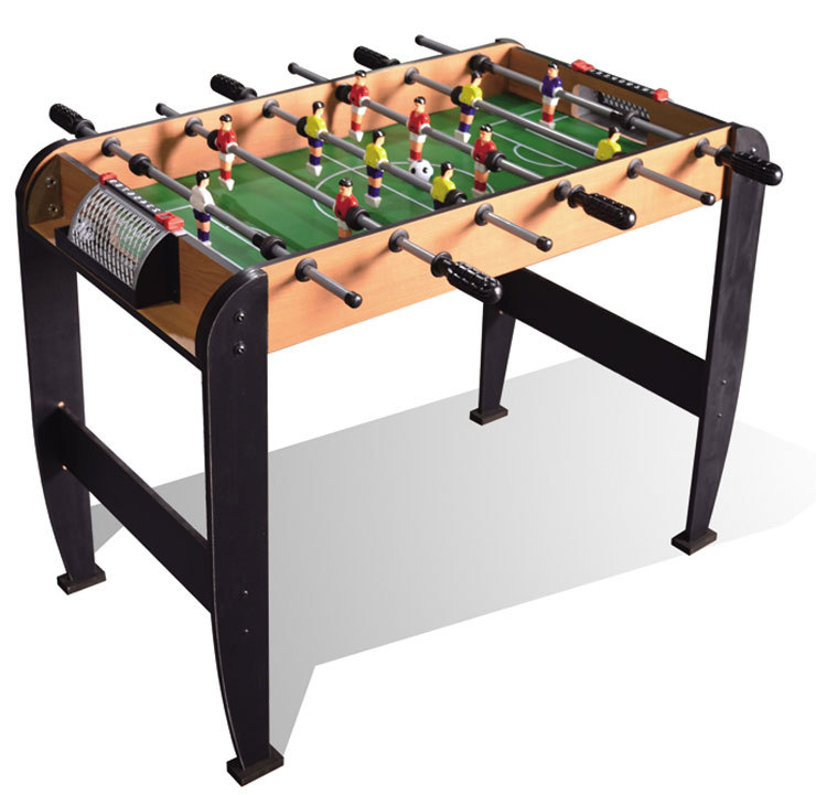 toys wooden table 6 grips football game table soccer table style for boy gifts(China (Mainland))
