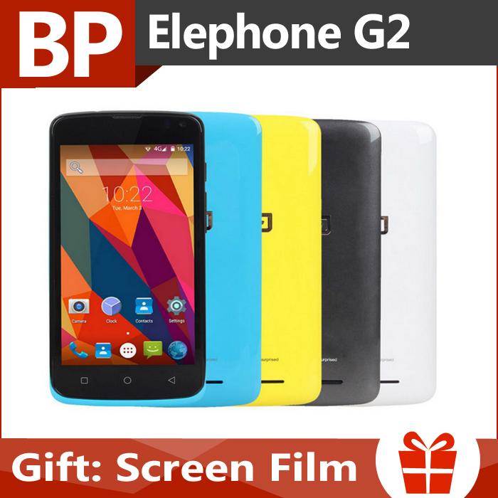 Мобильный телефон Elephone G2 4.5 inch IPS MTK6732 Andriod 5.0 4G 1 8 8MP Elephone G2(In Stock) elephone band 2