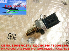JAPAN NEW FUEL RAIL HIGH PRESSURE SENSOR 8200579287 8200397346 COMPATIBLE:RENAULT 1.5dCi CLIO MK2 MK3 MEGANE SCENIC 5WS40208(China (Mainland))