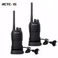 2pcs Portable Walkie Talkie Retevis RT21 UHF 2 5W Scrambler VOX Ham Radio Hf Transceiver 2