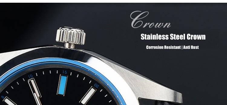 HOJUT A62 T062G мужские двойной календарь супер световой бизнес часы