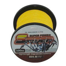Great Discount!!! Superpower 500m 12LB – 80LB Braided Fishing Line PE Strong Multifilament Fishing Line Carp Fishing Sea Fishing