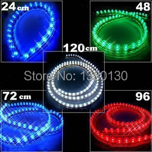 Super Bright 2 x 20 Daytime Running Light White 48 LED Strip Driving DRL Car Fog Parking Signal Light Lamp Styling Free shipping<br><br>Aliexpress