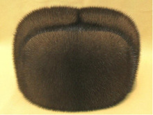 New Hot Sale Han Edition Real Mink Fur Hats For Men Fashion Northeast High Grade Whole