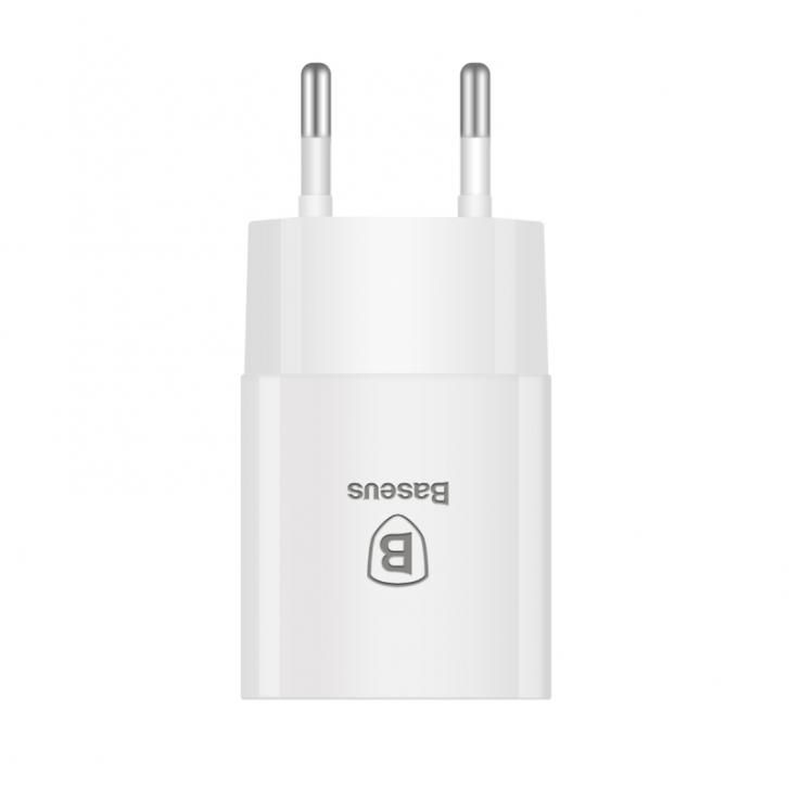 baseus 2.1A Output Single USB Powerful Charger Connector AC / DC Adapter High Quality Phone Charge Docks for iPhone Samsung Sony(China (Mainland))