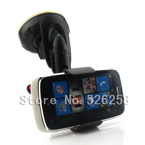 2014 Universal Powerful Car Sticky Suction Pad Holder FOR Nokia Lumia 610 free shipping(China (Mainland))