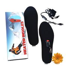 3.7 В лучший новогодний подарок USB зарядка с электрическим приводом с подогревом стельки для лыж снег ботинки зима сохраняя ноги в тепле женщины мужчины