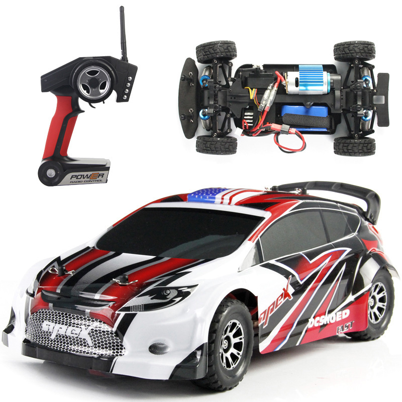 WLtoys A949 1:18 2.4G 4WD Electric RC Drift Racing Car High Speed Remote Control Car 40km/h(China (Mainland))