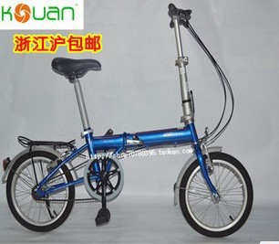 2014 New 16 folding bicycle male Women , sitair ultra-light child folding bike Free Shipping(China (Mainland))
