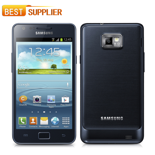 2016 Limited Rushed Unlocked Original samsung GALAXY SII S2 I9100 Android 2.3 Wi-Fi GPS 8.0MP camera Dual Core 4.3''cell phone