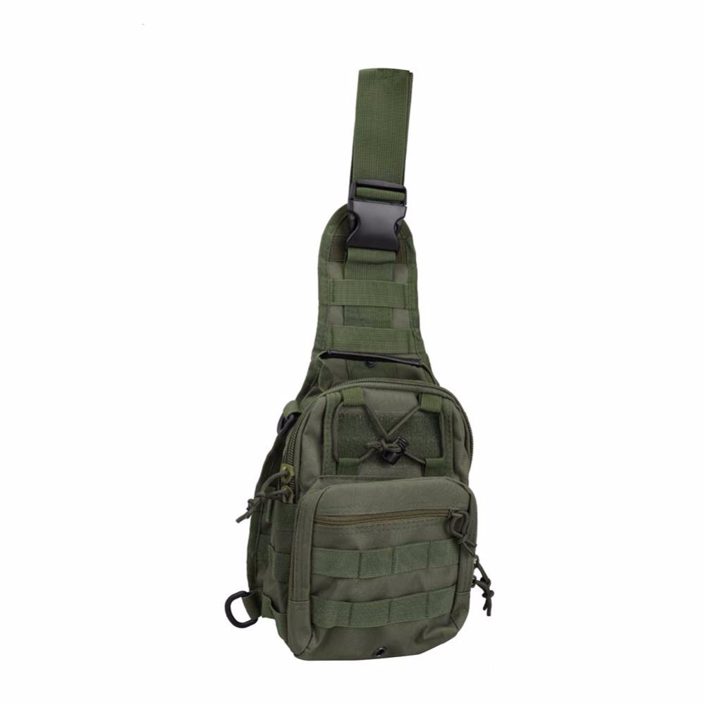 Outdoor Crossbody Shoulder Bag Nylon Military Haversack Tactical Men s Casual Bag B2C Shop