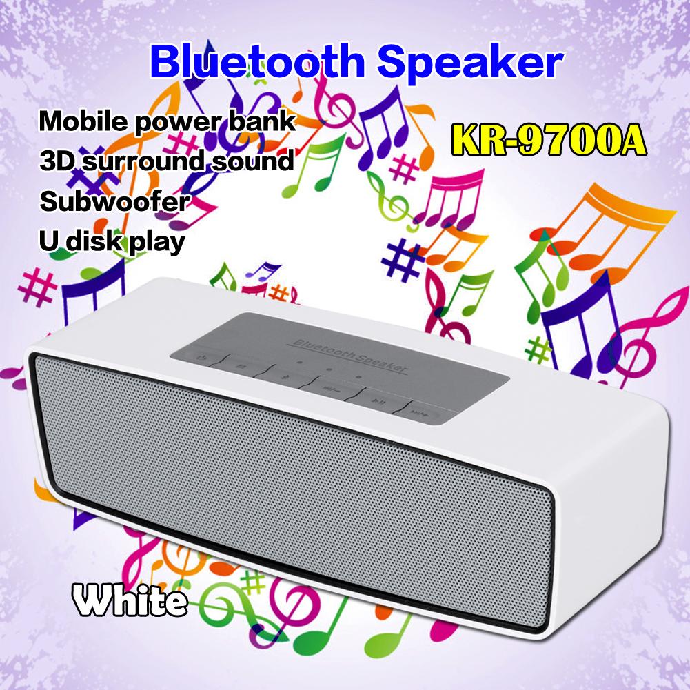 Caixa de som Portable Wireless Bluetooth Speaker Mini Hoparlor Sound Bar Speakers KR-9700 Loudspeaker For Phone PC laptop EG9525(China (Mainland))