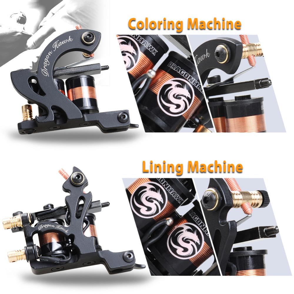 HTB1uOoEQFXXXXbEXFXXq6xXFXXXP - Professional Tattoo Kit Machine 4 Style Guns Set With Disposable Needles Gift