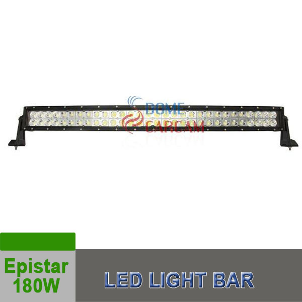 On Sale Epistar 180W Offroad Light Bar Double Row Straight Car Headlight for 4X4 Jeep SUV Light Free Shipping(China (Mainland))