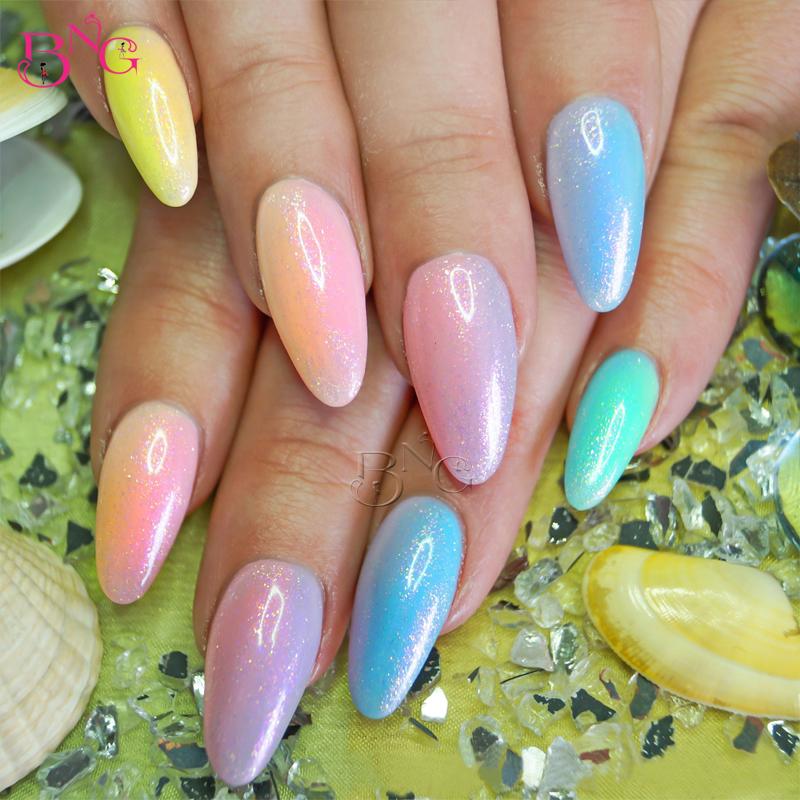 5set/lot TP-DE17A Nail Art Decoration Shimmer Crystal Multic and Magic Glitter Powder Jet Design Acrylic UV Powder Dust Tool Kit(China (Mainland))