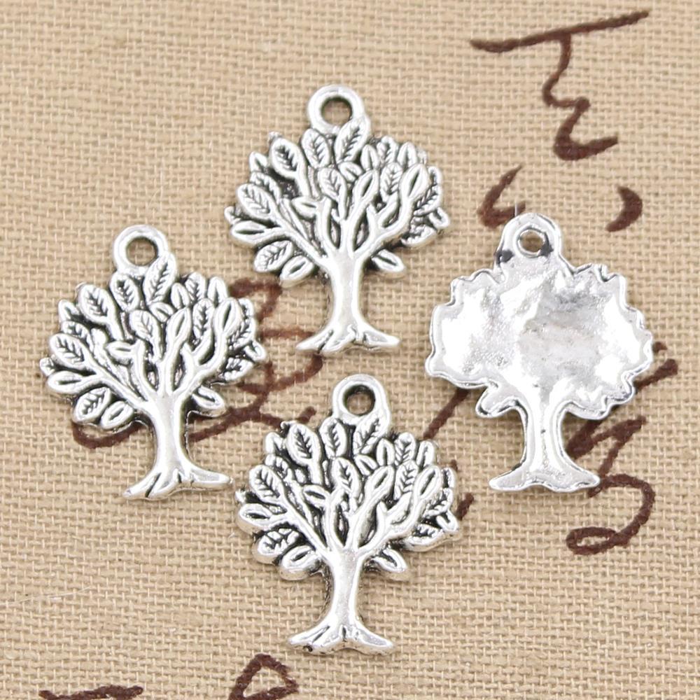 20pcs Charms life tree 22*17mm Antique pendant fit,Vintage Tibetan Silver,DIY bracelet necklace