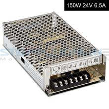 Один выход импульсный источник шагового блок питания 150 Вт 24 В a для фрезерный станок с чпу комплекты S-150-24