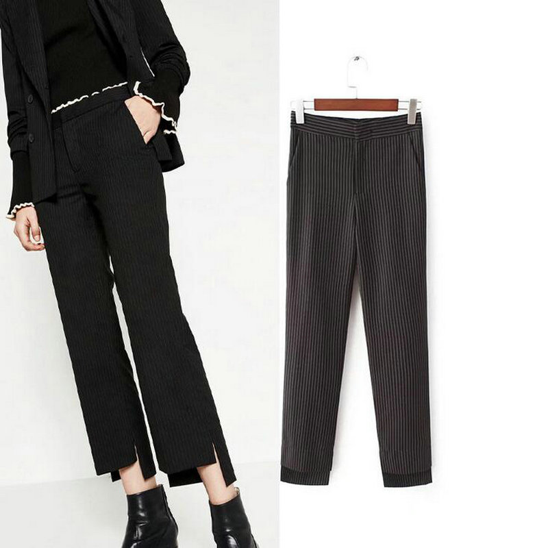 Black Striped Pants Promotion-Shop for Promotional Black Striped ...