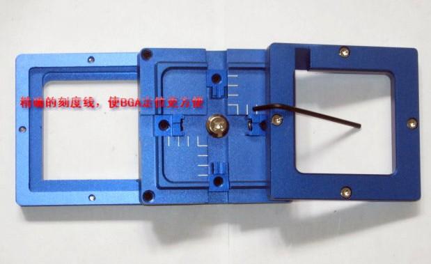 Free Shipping HOT 1PCS 80x80mm BGA general utility Reballing Kit reballing station(China (Mainland))