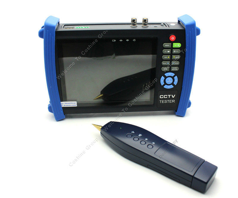 Free shipping!7 CCTV Security Camera Tester Monitor Analog HDMI VGA Cable Scan HVT-3600 Zoom<br><br>Aliexpress