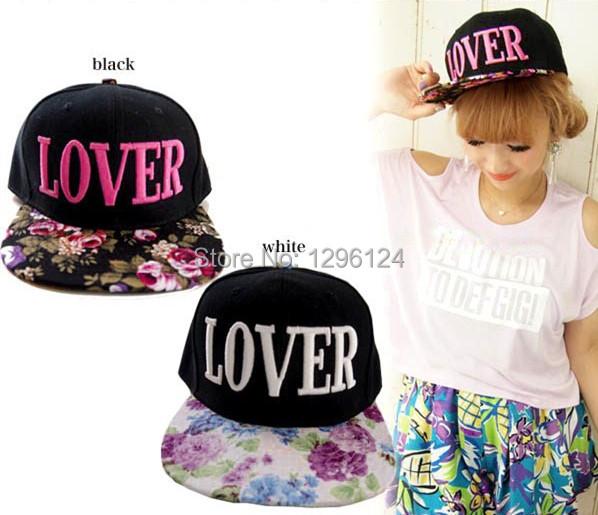 NEW STYLE YJ Brand LOVER Snapback Baseball Cap Hat Plain Flat Peak Cap Hip Hop Hap for men /women(China (Mainland))