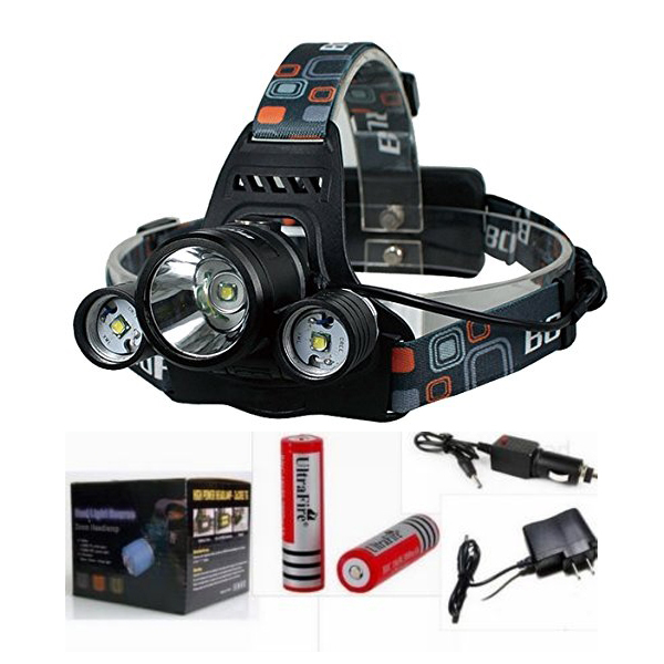 5000lm Xm L T6 Led Flashlight