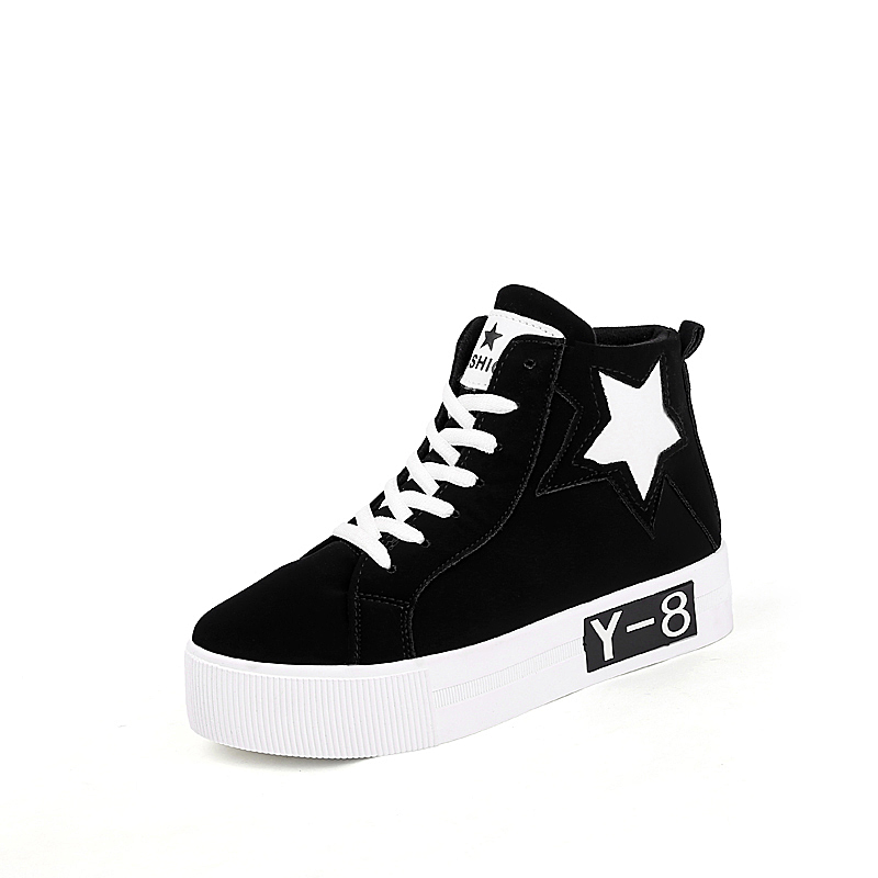 Women Canvas Shoes Sport Star High Style 2016 Designer Lifestyle Walking Comfortable Casual Shoes For Woman Chaussures Femmes