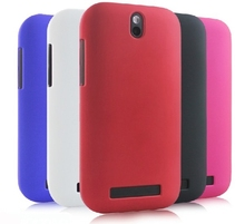 Hybrid Hard Cover Case For HTC Desire SV T326E Slim Matte +Free LCD Screen Protector(China (Mainland))