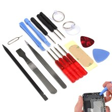 Wholesale 17 in 1 Opening Pry Repair Screwdrivers Tools Kit Set For Apple For iPhone 5 Universal Smart Phones(China (Mainland))
