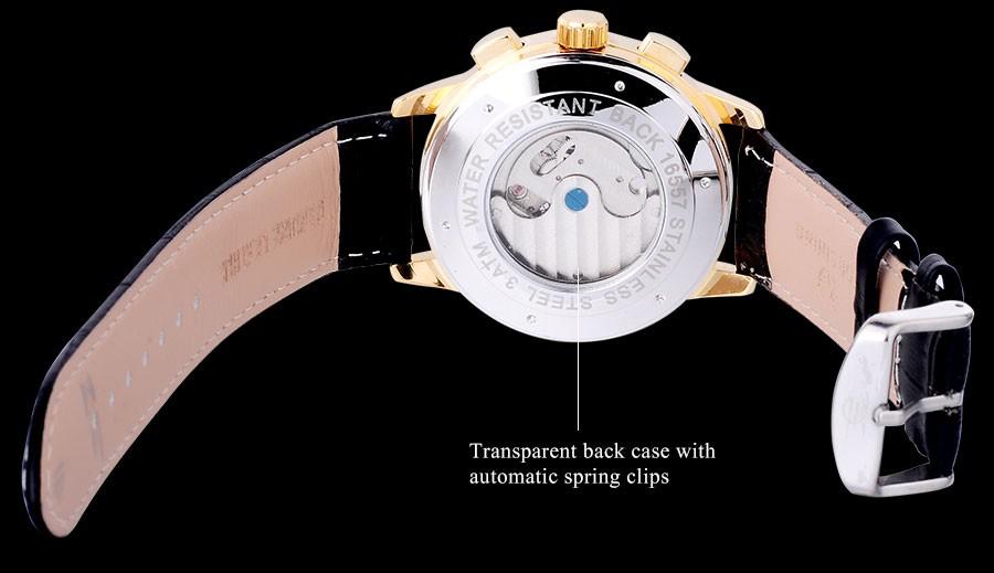 Мужские Часы 2016 FORSINING марка Luxury auto Механические часы синий точка дизайн турбийон наручные часы римские цифры/A847