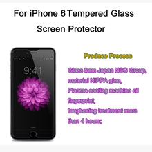 2.5D High quality 0.26mm 9H LCD Clear Tempered Glass Screen Protector for iPhone 6/6s 4.7″ inches with Retail Package