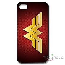 For iphone 4/4s 5/5s 5c SE 6/6s plus ipod touch 4/5/6 back skins mobile cellphone cases cover Custom Wonder Woman