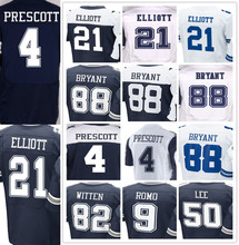 Men's 4 Dak 21 Ezekiel 9 Tony 50 Sean 82 Jason 88 Dez jersey(China (Mainland))