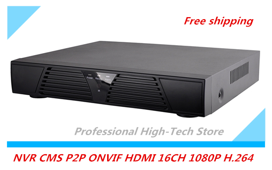 NVR Full CCTV Support CMS P2P ONVIF 16 Channel HDMI Network Video Recorder  for IP camera Mobile Phone View 16CH 1080P H.264