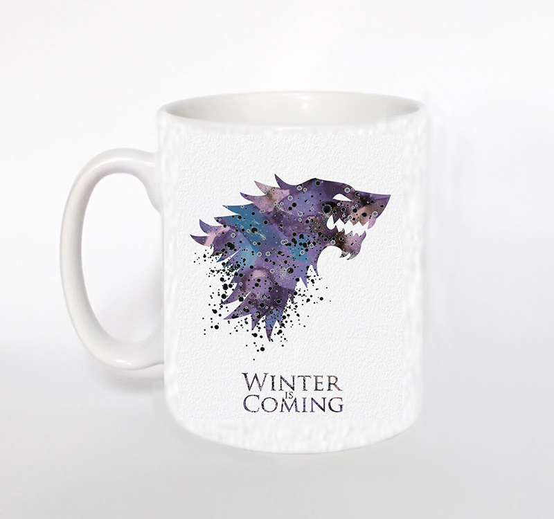 House Stark Game Of Thrones Black heat changing color mug coffee mugs,or white mug kids Mug Milk Cup Tea Cups children's cups(China (Mainland))