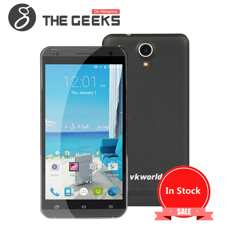 Stock in EU Original VKWORLD VK700 Pro MTK6582 1.3GHz Quad Core 5.5