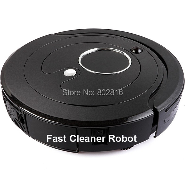 Free Shipping For Singapore Buyer Most Advanced Auto Vacuum Cleaner Robot With Li-ion battery,0.8L Dustbin,Clean Time Setting(China (Mainland))