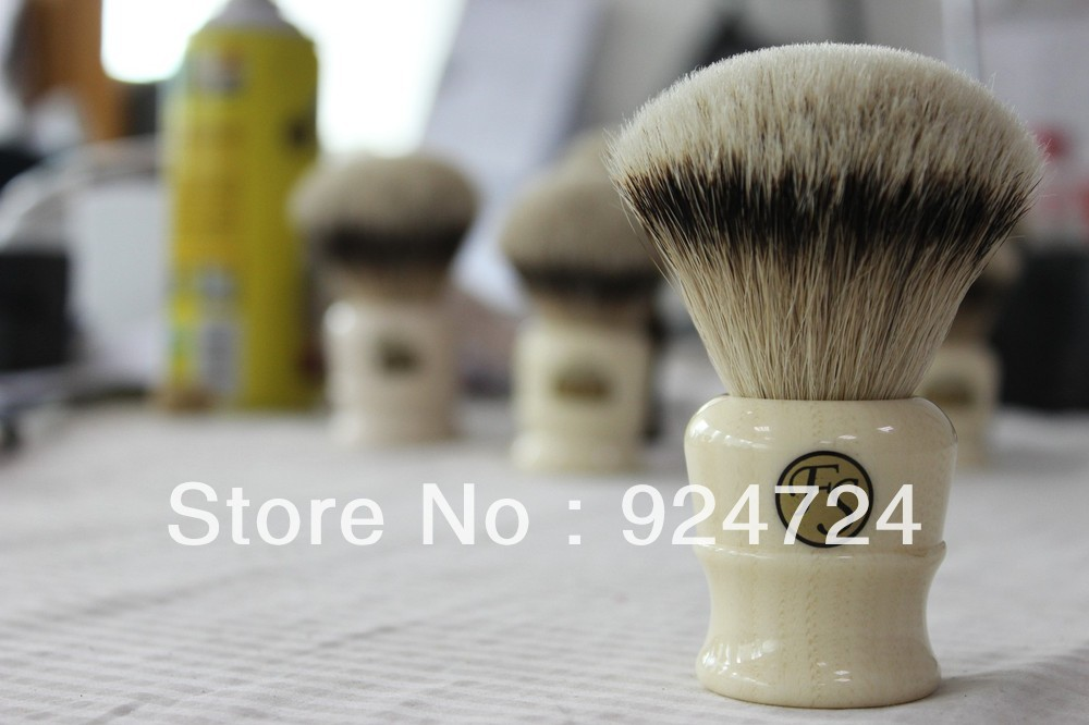 Frank Shaving Manchurian Silvertip Badger Brush,A1,knot 26mm+FREE STAND