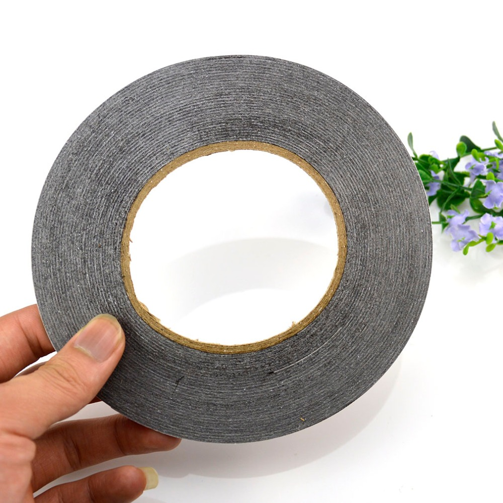 Black Color 2mm Double Sided Adhesive 3M Sticker Tape For Mobile Phone LCD Touch Screen Repair Housing Parts , Free shipping !!!(China (Mainland))